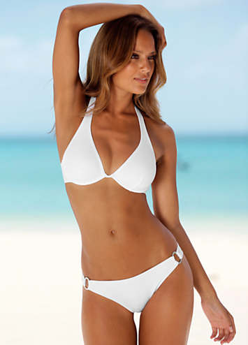 Chiemsee White Ring-Hip Underwired Bikini