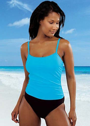 LASCANA Turquoise Tankini-Style Swimsuit