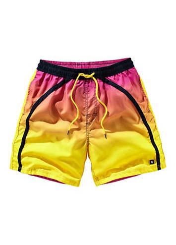 mens yellow swim shorts by bruno banani swimwear365. Black Bedroom Furniture Sets. Home Design Ideas