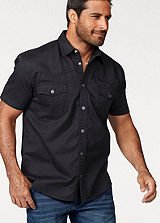 Arizona Black Western Denim Shirt