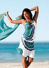 Beachtime Multi-Coloured Two-Piece Style Dress