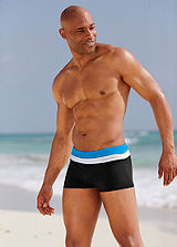 Bruno Banani Black Boxer Swimming Shorts