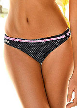 Buffalo Black Fine-Polka Swimwear Briefs