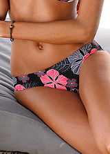 Buffalo Black Floral Bikini Briefs