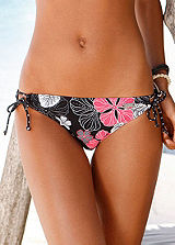 Buffalo Black Side-Tie Bikini Briefs