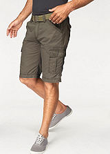 Grey Connection Olive Bermuda Shorts