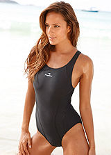 KangaROOS Black Sports Swimsuit