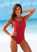 KangaROOS Red Sporty Swimsuit