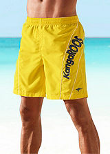 KangaROOS Yellow Swimming Shorts