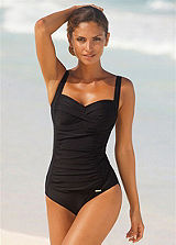 LASCANA Black Cup-Cross Swimsuit