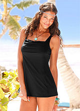 LASCANA Black Elegant Swimdress