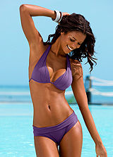 LASCANA Purple Triangle Bikini
