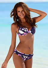 LASCANA Purple Underwired Bikini