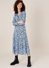 Oli Black Plaited Strap Paisley Maxi Dress