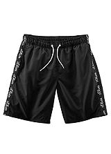 s.Oliver Black Long Swimming Shorts