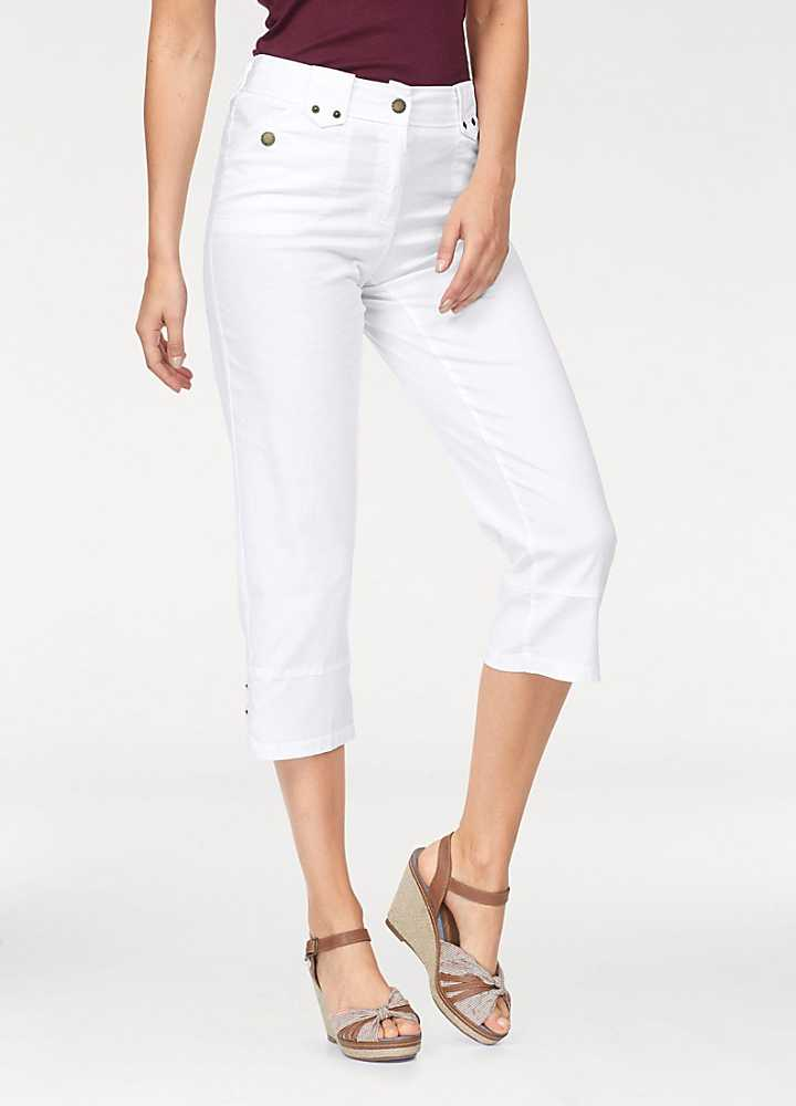 Light purple embroidered linen loose fit cropped trousers Save. Was £ Now £ Evans Neutral linen cropped trousers Save. White bi-stretch cropped trousers Save. Was £ Now £ Lands' End Black bi-stretch cropped trousers Save.